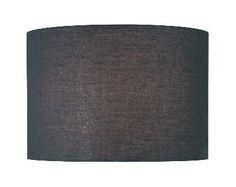 Black drum shade, Lighting Showroom