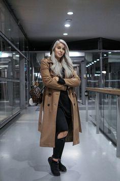 Ruskea takki by Uino  #Fashion, #Muoti, #Ootd, #Päivänasu