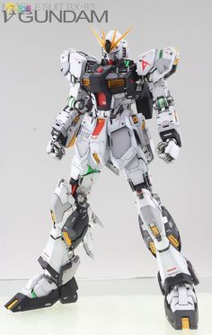 MG 1/100 Nu Gundam Ver Ka - Painted Build Modeled by Jon-K