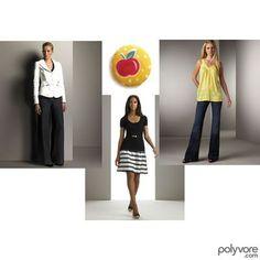 Apple Shape   Fashion Sense   I like the black t-shirt and skirt idea. For more apple shaped ideas check out my 'dressing an apple shape' board!