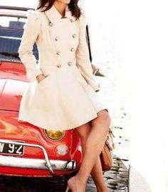 long white dress coat - i think i owned this coat inthe 60's
