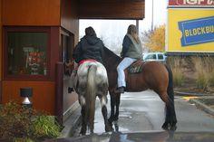 Starbucks Drive thru, Belfair, WA
