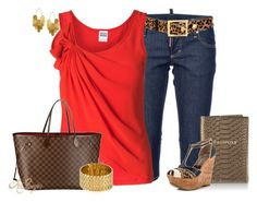 """""""Weekend Getaway Contest"""" by kginger ❤ liked on Polyvore featuring Dsquared2, Gucci, Vero Moda, Harrods, Jessica Simpson, Louis Vuitton, Hervé Van Der Straeten and Rebecca Minkoff"""