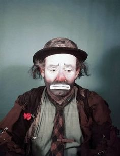 Emmett Kelly. Worlds most famous Clown.