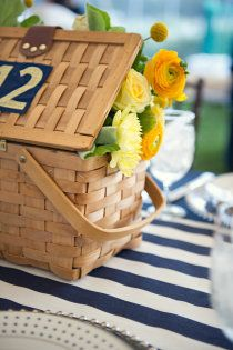 Madison Connecticut Wedding by Carla Ten Eyck Picnic Time, Summer Picnic, Summer Fun, Summer Time, Summer Days, Summer Breeze, Summer 2014, Nautical Wedding Theme, Nautical Style