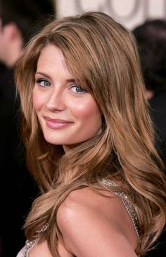 light brown hair -