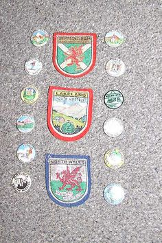 YHA patches and badges