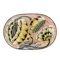 a stoneware dish by Birger Kaipiainen