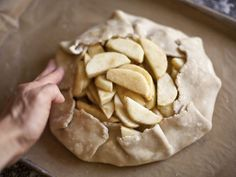apple gallette zb 05: can use any fruit in a galette