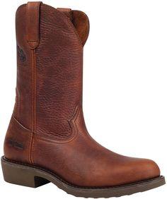 G003 Georgia Men's Carbo-Tec SR Work Boots - Copper