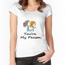 Grey's Anatomy - You are my person women's tee