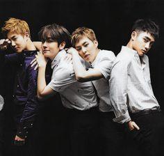 Suho, Baekhyun, Xiumin, D.O