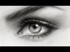 DO'S & DON'TS: How to Draw Realistic Eyes | Step by Step Drawing Tutorial - YouTube