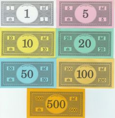 Monopoly Money Templates Free - Invitation Templates