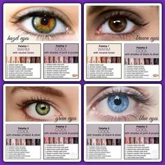 Best eyeshadow palettes for hazel, brown, blue, or green eyes. Younique, In Sto… Younique Eyeshadow Palette, Makeup Younique, Make Up Gesicht, Pinterest Makeup, Unique Makeup, Eye Palette, Makeup Palette, Eyeshadow Looks, Brown Eyeshadow