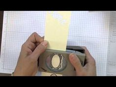 ▶ Envelope Punch Board Halloween Treat Holder - YouTube  long envelope made with punch board