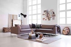 Bilderesultat for ygg og lyng Couch, Interior Design, Wall, Furniture, Home Decor, Nest Design, Settee, Decoration Home, Sofa