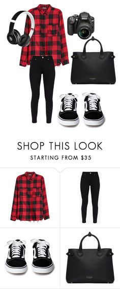 """""""I'm in London"""" by anitaviolakovacs on Polyvore featuring Ted Baker, Burberry, Beats by Dr. Dre and Nikon"""