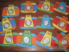 Φωτογραφική μηχανή : Κατασκευή με χάρτινες θήκες www.popi it.gr