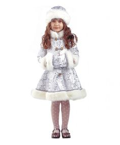 Снегурочка Хрустальная: шуба, шапка, муфта (Россия)