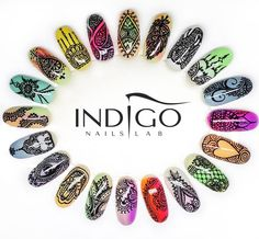 Indigo Educator Ania Leśniewska tel. +48 604 542 312, Follow us on Pinterest. Find more inspiration at www.indigo-nails.com #nailart #nails #indigo #nailsdesign