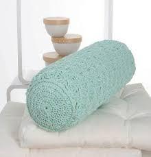 Resultado de imagen para almohadones redondos al crochet patrones