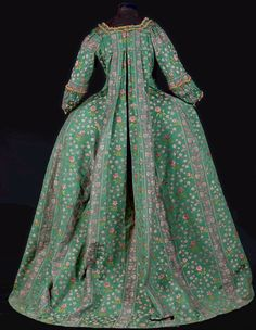 Robe à la française ca. 1760 Fripperies and Fobs