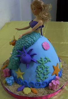 Mermaid cake -