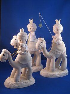 They Followed The Star - Precious Moment Figurine