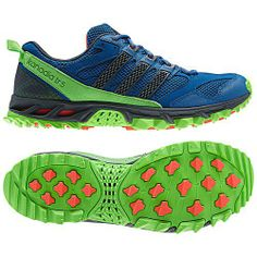 Adidas Kanadia 5 TR Blue/Green Want these real bad.