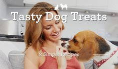 One sure way to a dog& hearts is through his stomach! Here are 3 simple DIY dog treat recipes to help you show your furry friend how much he means to you. Puppy Treats, Diy Dog Treats, Homemade Dog Treats, Dog Treat Recipes, Dog Food Recipes, Best Friend Day, Dog Health Tips, Group Of Dogs, Diy Stuffed Animals