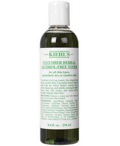 Cucumber Herbal Alcohol-free Toner 250 ml. fra Kiehl's – Køb online på Magasin.dk - Magasin Onlineshop - Køb dine varer og gaver online