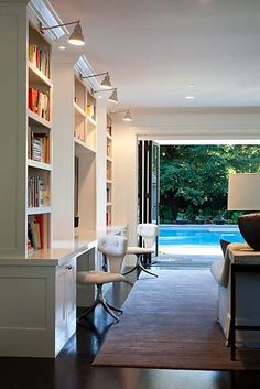 Love this! Home office by Marie Christine Design.