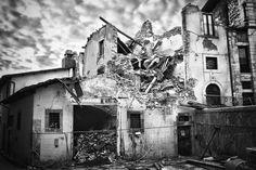 My destroyed city 3 by badherer on deviantART