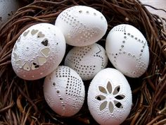 Egg Crafts, Easter Crafts, Diy And Crafts, Arts And Crafts, Carved Eggs, Art Carved, Art N Craft, Love Craft, Cool Easter Eggs