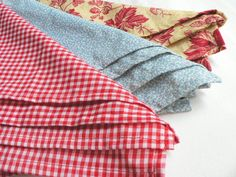 Cloth Napkin Set RefugeeMade by BeIntertwined on Etsy, $10.00