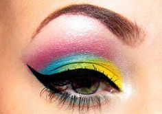 ImageFind images and videos about beauty, makeup and eyes on We Heart It - the app to get lost in what you love. Eyeshadow Tumblr, Eyeshadow Makeup, Makeup Art, Beauty Makeup, Hair Makeup, Hair Beauty, Fun Makeup, Mineral Eyeshadow, Perfect Makeup
