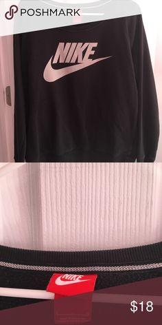 Nike sweatshirt Old school Nike sweatshirt-great condition Nike Tops Sweatshirts & Hoodies