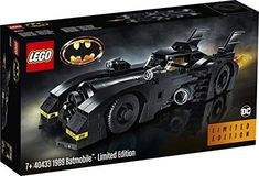 LEGO 40433 - Batmobile - Limited Edition Hunger Games, Lego Batmobile, Lego Batman, Superhero, Lego Dc Comics, Childrens Ebooks, Shop Lego, Michael Keaton, Friends Tv Show
