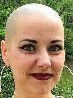 Bald Head Women, Shaved Head Women, Shaved Heads, Buzz Cuts, Super Short Hair, Bald Girl, Close Shave, Bald Heads, Shaving