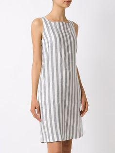 All day dresses. Never be stuck without something to wear with our collection of designer day dresses at Farfetch. Cotton Dresses, Velvet Dresses, Stripes Fashion, Dress Sewing Patterns, Ladies Dress Design, Day Dresses, Striped Dress, Spring Outfits, Designer Dresses