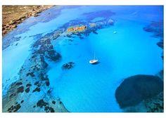 Du bleu plein les yeux en #Corse #mediterannee #portovecchio #plage #mer