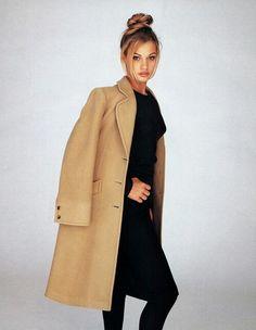 Classic Camel Overcoat & All Black