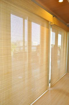 Japanese Blinds, Japanese Door, Japanese Bedroom, Japanese Interior, Drapes And Blinds, Bamboo Blinds, Curtains, Best Interior, Traditional House