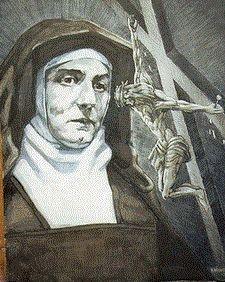 Santa Teresa Benedicta de la Cruz (Edith Stein) Mujer, judía, Filosofa, Carmelita, Brillante, Santa!