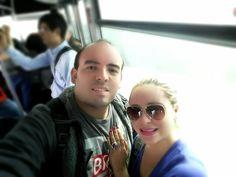 En el Bus a el Aeropuerto de Aruba