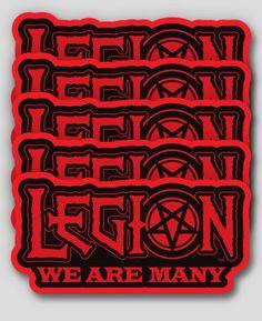 Legion Kneeling Devil Girl Shirt