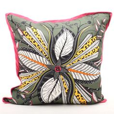 Hipp Flower Swamp Cushion - Ardmore Collection