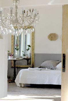 an elegant bedroom