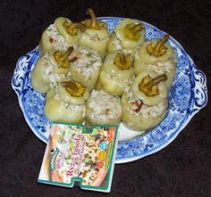 W Mojej Kuchni Lubię..: papryka faszerowana z parowara...